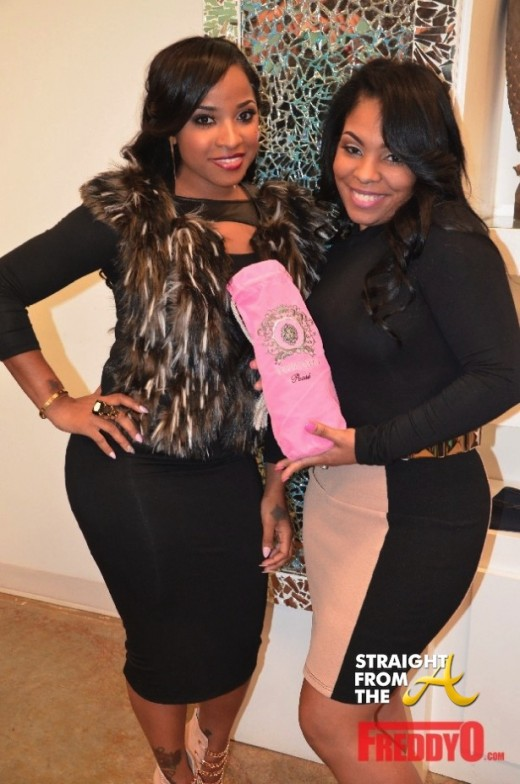 QUICK FLIX: Toya Wright Celebrates One Year Anniversary of GARB Shoetique… [P