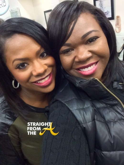 Kandi Burruss Michelle ATLien Brown StraightFromTheA