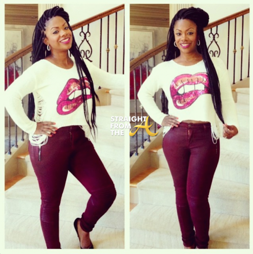 QUICK QUOTES: Kandi Burruss Takes a Stand For The 'Thick Chicks'. PHOTOS