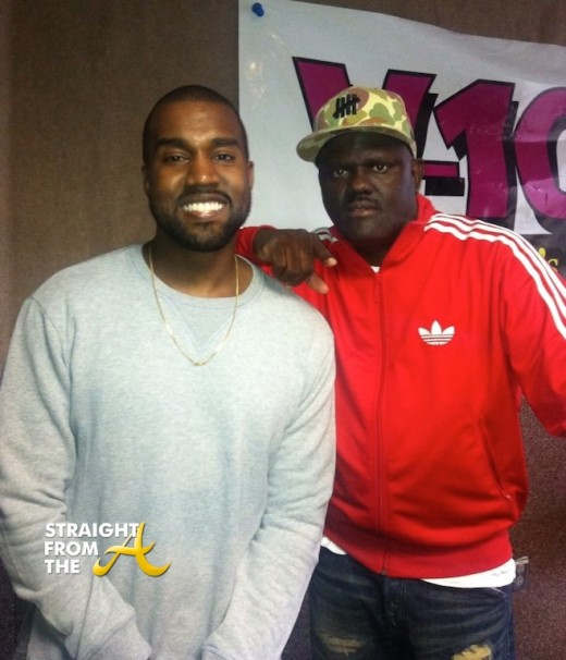Narcissistic or Evil Genius? DJ Greg Street Interviews Kanye West… [PHOTOS + VIDEO]