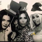 Kardashians and Blac China Christmas 2013