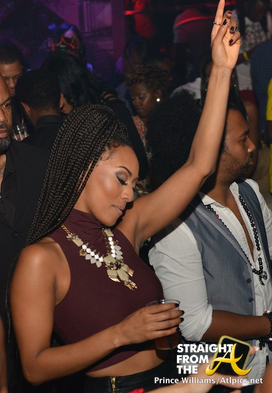Birthday Pics: Keri Hilson Parties Like A Rockstar w/T-Pain & Allen Iverson… [PHOTOS]