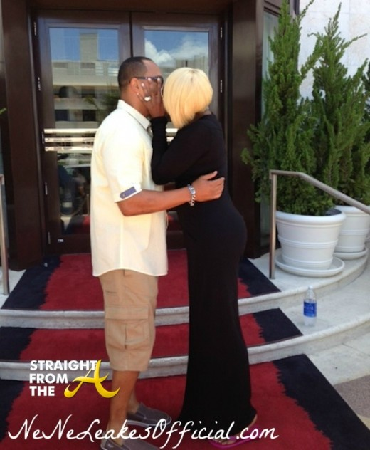 NeNe-Leakes-Kissing-Chuck-Smith