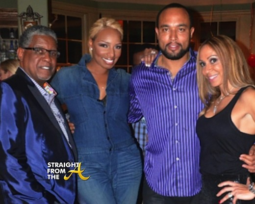 Nene  Gregg Leakes Chuck Mynique Smith StraightFromTheA