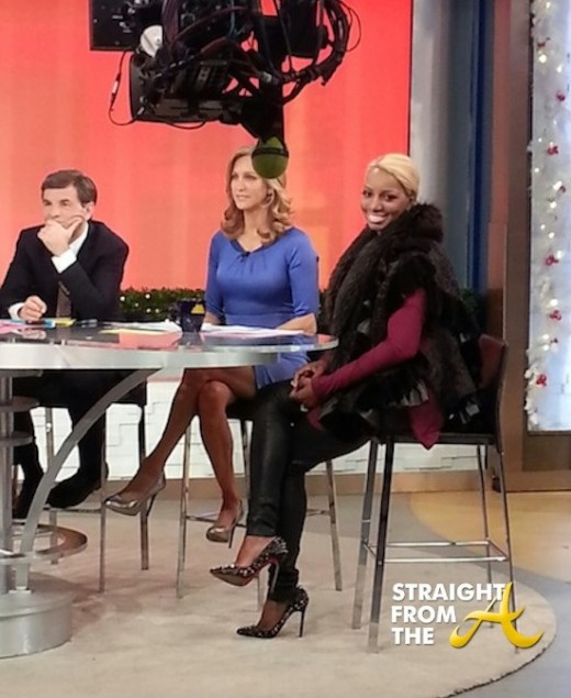 Nene Leakes Good Morning America December 2013 StraightFromTheA 2