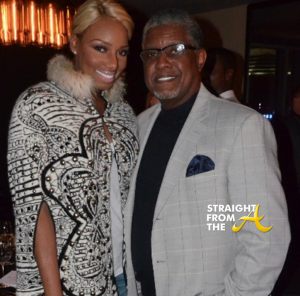 Nene and Gregg Leakes StraightFromTheA
