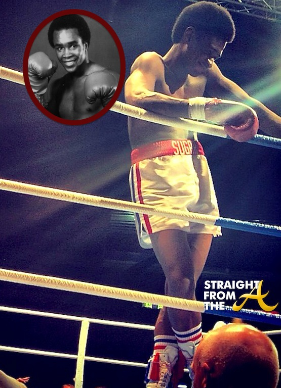FIRST LOOK: Usher Raymond as Sugar Ray Leonard in 'Hands of Stone'… [PHOTO