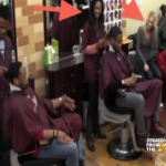 WATCH THIS: Black Man Brings White Girlfriend To The Barbershop… What Happens Next? [VIDEO]