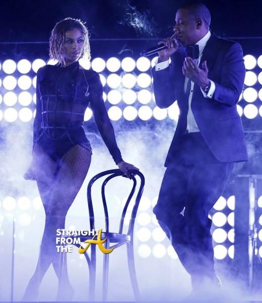 Beyonce Jay Z Grammy Awards 2014 StraightFromTheA