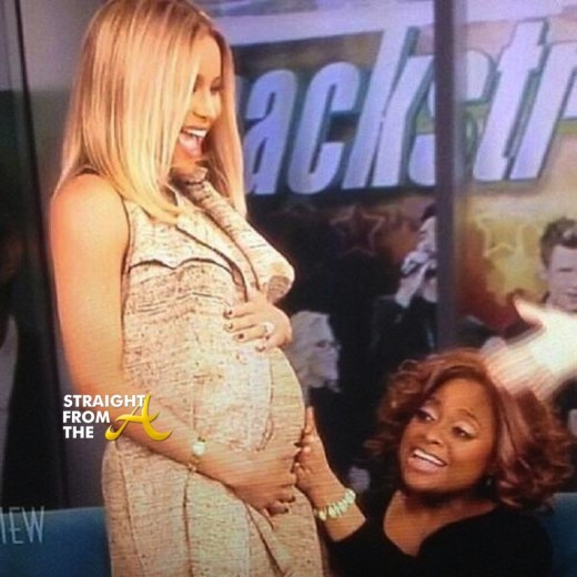 Ciara Pregnant The View StraightFromTheA