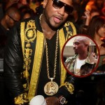 Young Jeezy Hosts 1st Party of 2014 in Versace + 2Pac Inspired 'Euphanasia' Chain… [PHOTOS]
