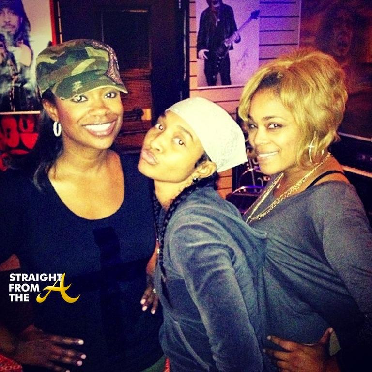 Kandi Burruss TLC - Chilli TBoz 2013