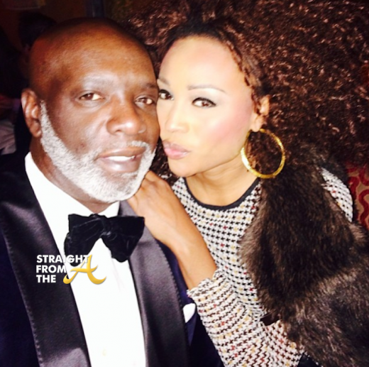 Peter Thomas Cynthia Bailey NYE 2013 2