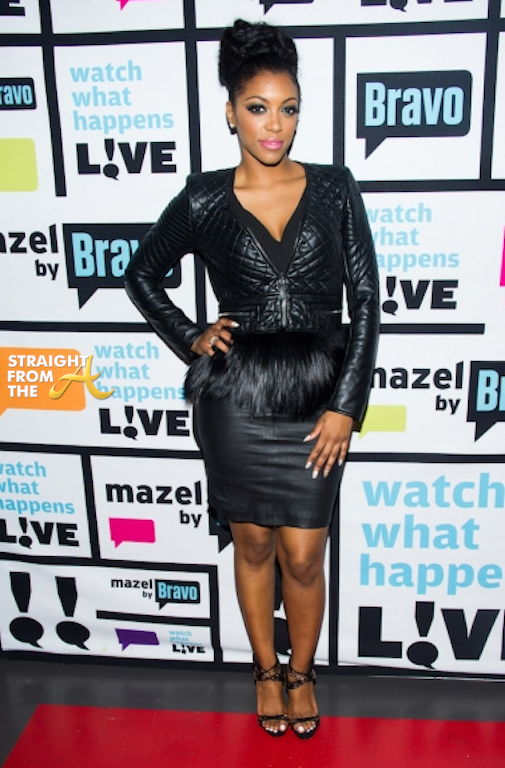 Porsha Stewart Williams WWHL 2014 StraightFromTheA