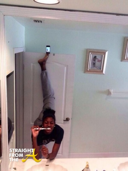 Selfie Olympics StraightFromTheA 2013-14