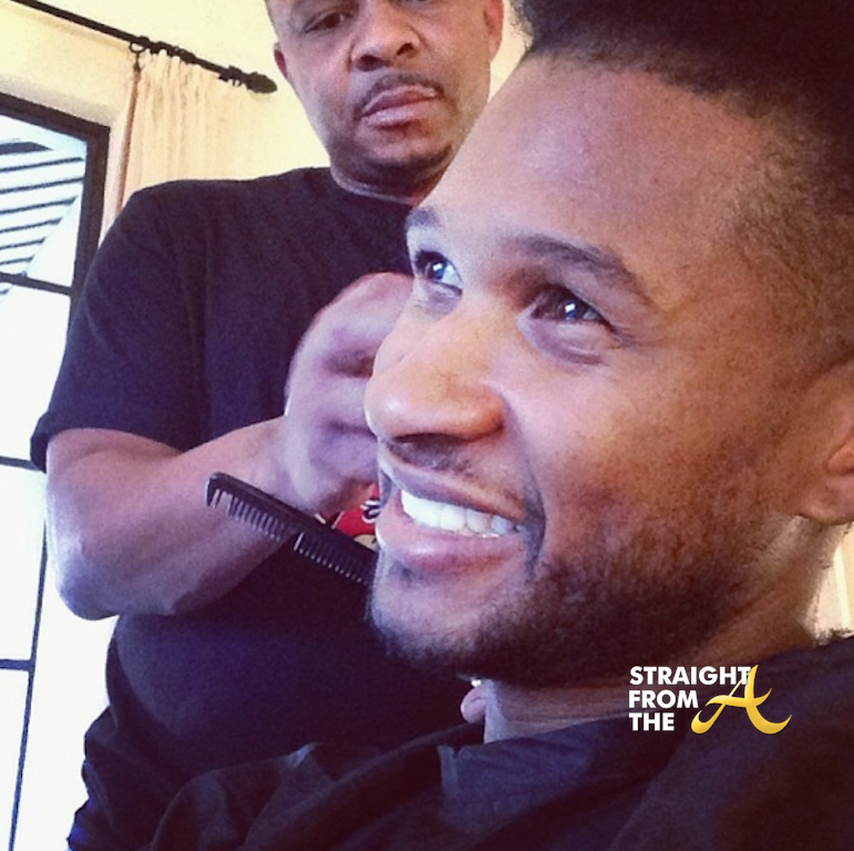 Usher Raymond Haircut Kid   Usher 2014 Haircut
