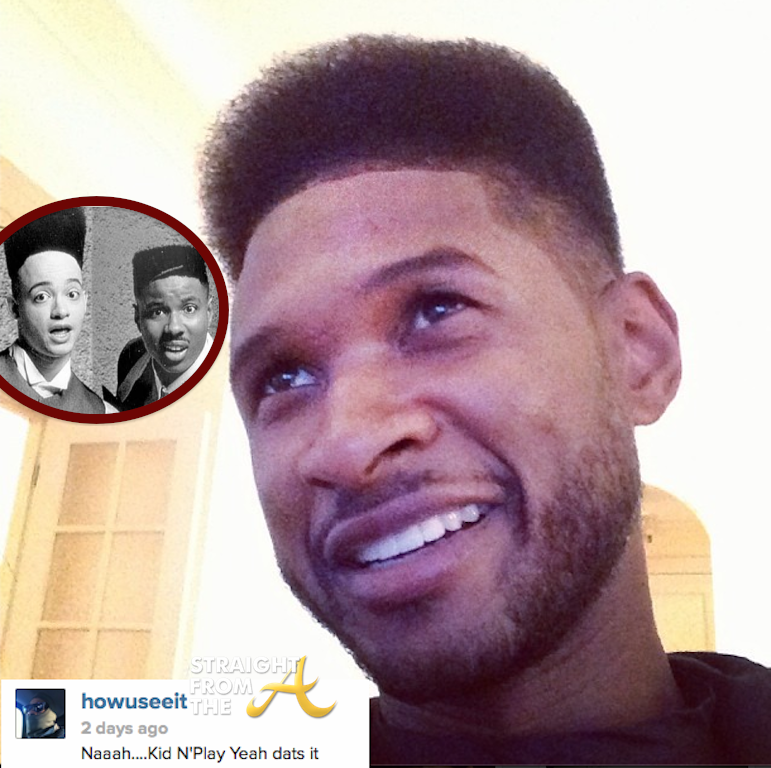 Usher Raymond Haircut Kid n Play 2014 StraightFromTheA 3Usher 2014 Haircut