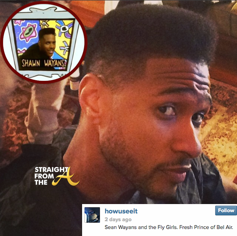 Usher Raymond Haircut ShawnUsher 2014 Haircut