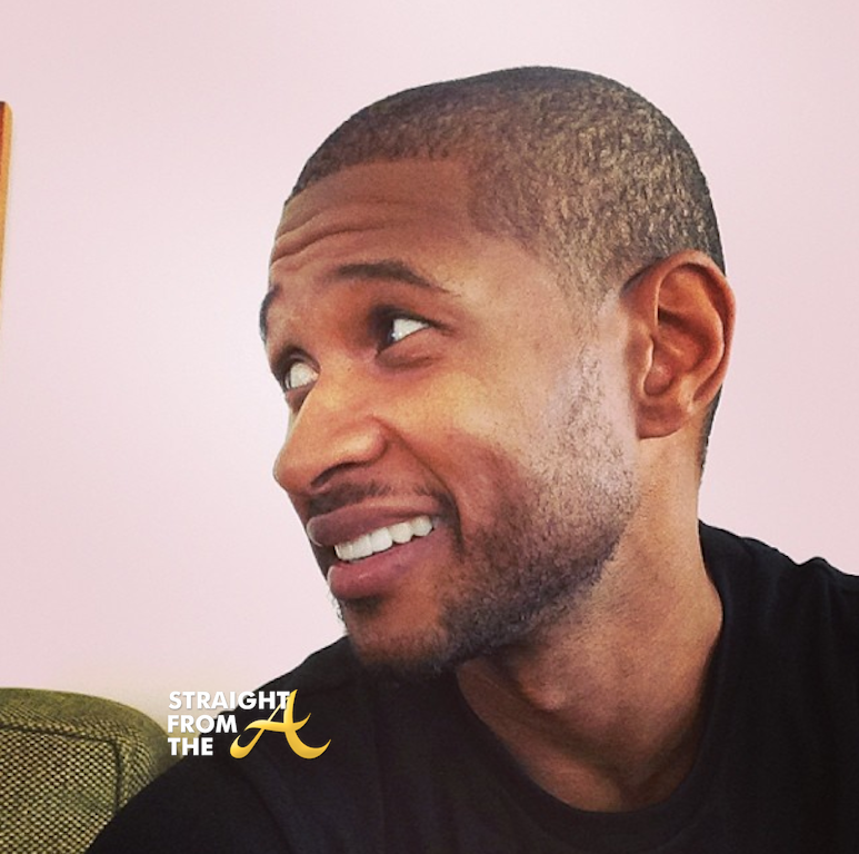 Usher Raymond Haircut 2014 StraightFromTheAUsher 2014 Haircut