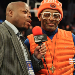 Spike Lee's Sideline Pose Sparks #MamaSpike Jokes… [PHOTOS]