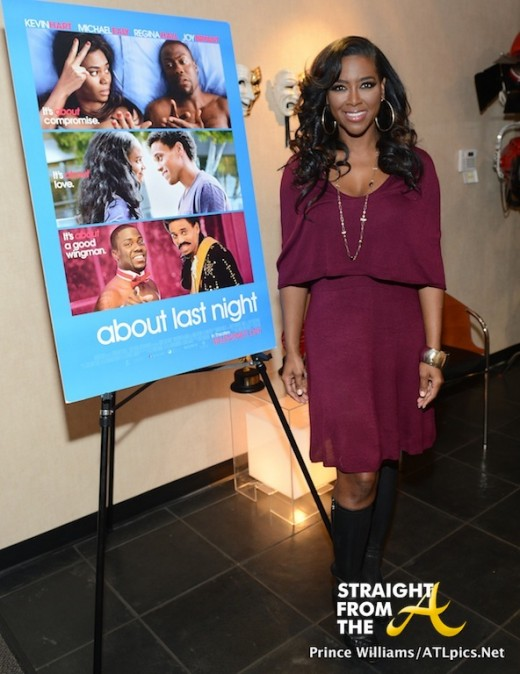 Cynthia Bailey Kenya Moore About Last Night Private Screening StraightFromtheA-17