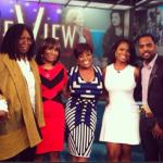WATCH THIS: Kandi Burruss, Todd Tucker & Mama Joyce Take Their Grievances to 'The View'… [PHOTOS + VIDEO]
