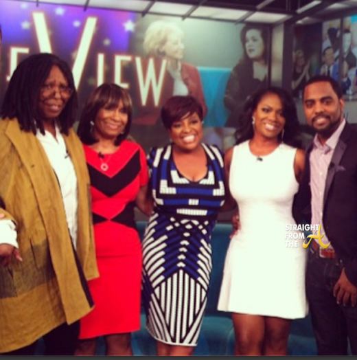 Kandi Todd Mama Joyce The View 2014 StraightFromTheA