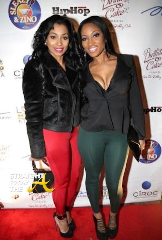 Karlie Redd And Erica Dickson Love Hip Hop Atlanta Teairra Tammy Rivera Photos Of