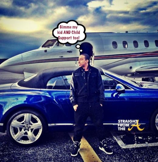 Baby Mama Drama! Ludacris Seeks Full Custody of New ...