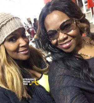 Michelle ATLien Brown Tameka Raymond StraightFromTheA 2