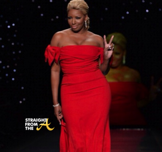 Nene Leakes Red Hot Truth Runway NYCFW 2014 StraightFromTheA-13
