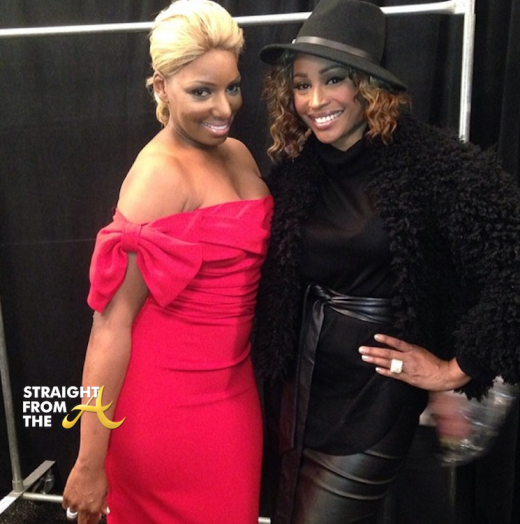 Nene Leakes Red Hot Truth Runway NYCFW 2014 StraightFromTheA-14