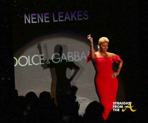 Nene Leakes Red Hot Truth Runway NYCFW 2014 StraightFromTheA-3