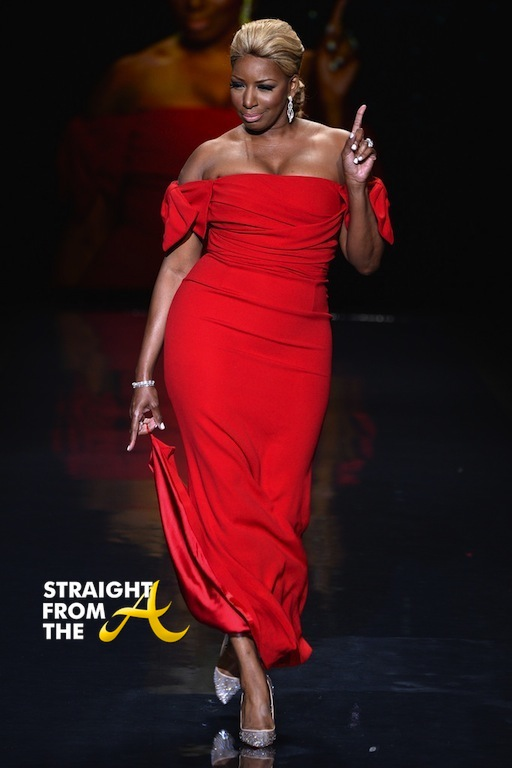 Nene Leakes Red Hot Truth Runway NYCFW 2014 StraightFromTheA-4