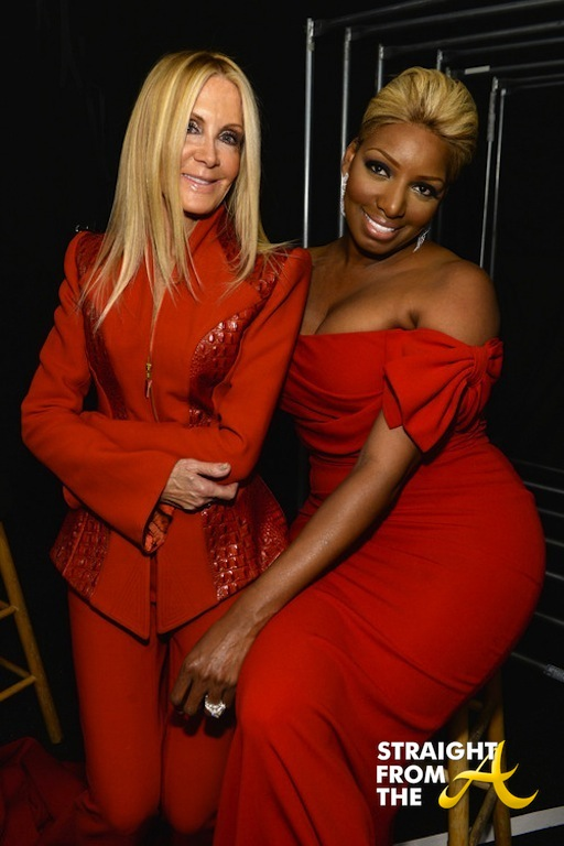 Nene Leakes Red Hot Truth Runway NYCFW 2014 StraightFromTheA-6