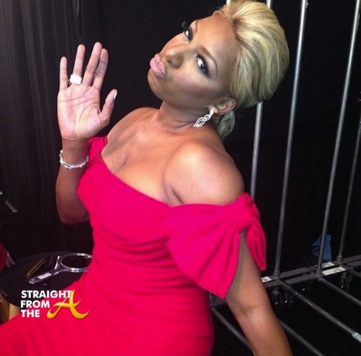 Nene Leakes Red Hot Truth Runway NYCFW 2014 StraightFromTheA-7