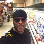 Pic of the Day: Tyler Perry's Supermarket Selfie…