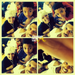 Benzino and his kids in hospital StraightFroMTheA
