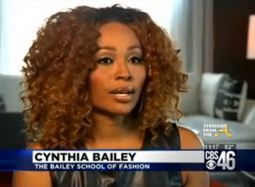 Cynthia Bailey CBS StraightFromTheA 2014 4