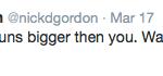 Nick Gordon Tweets