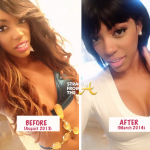 Porsha Stewart Williams Before After StraightFromTheA 2014