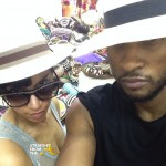 Instagram Flexin' – Usher & Grace Post #Selfie From Panama… [PHOTOS]