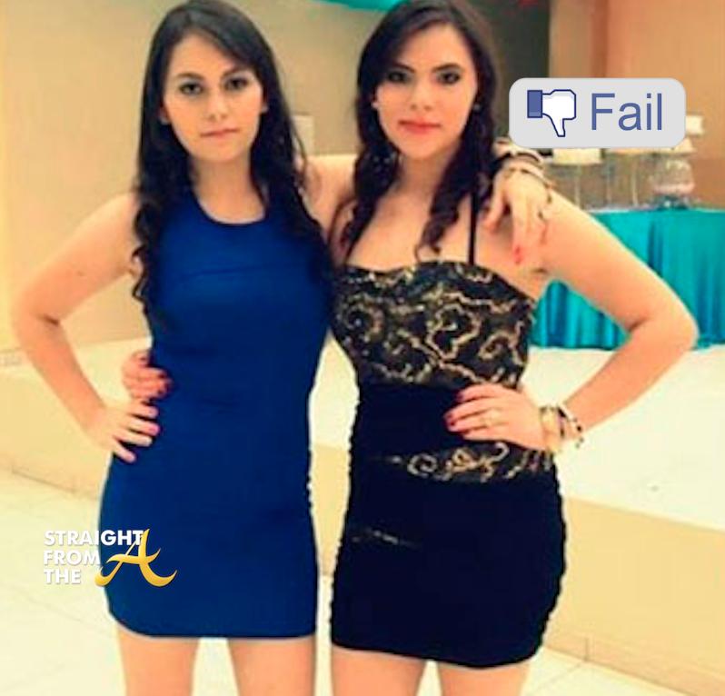 Erandy Elizabeth Gutierrez and Anel Baez