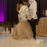 Kandi Burruss' Wedding Dress Revealed + Why She Postponed Honeymoon… [PHOTOS]