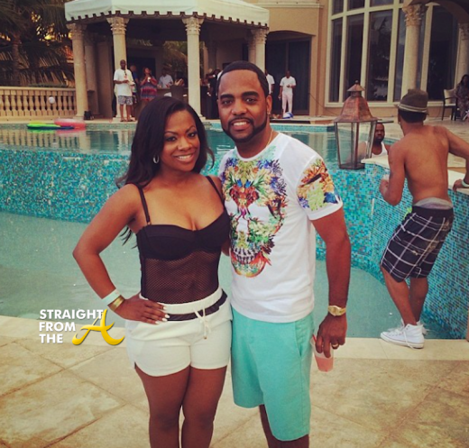 Boo'd Up: Newlyweds Kandi Burruss & Todd Tucker Hit The Beach… [PHOTOS]
