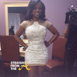 Kandi Burruss Wedding Dress Fitting - StraightFromTheA