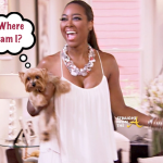 Is Kenya Moore's Dog Velvet Alive and Well On The West Coast? [PHOTOS]