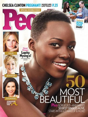 Cover Shots: Lupita Nyong'o Is People Magazine's Most Beautiful Woman! [PHOTOS + VIDEO]