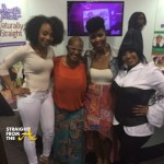 SPOTTED: Chrisette Michele Supports 'Natural Hair' Movement in Atlanta… [PHOTOS]