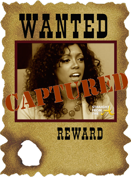 Porsha Stewart Williams Wanted Poster StraightFroMTheA